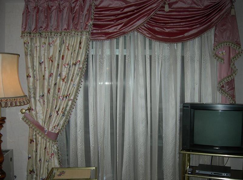 confection sur mesure de rideaux doubles rideaux et. Black Bedroom Furniture Sets. Home Design Ideas